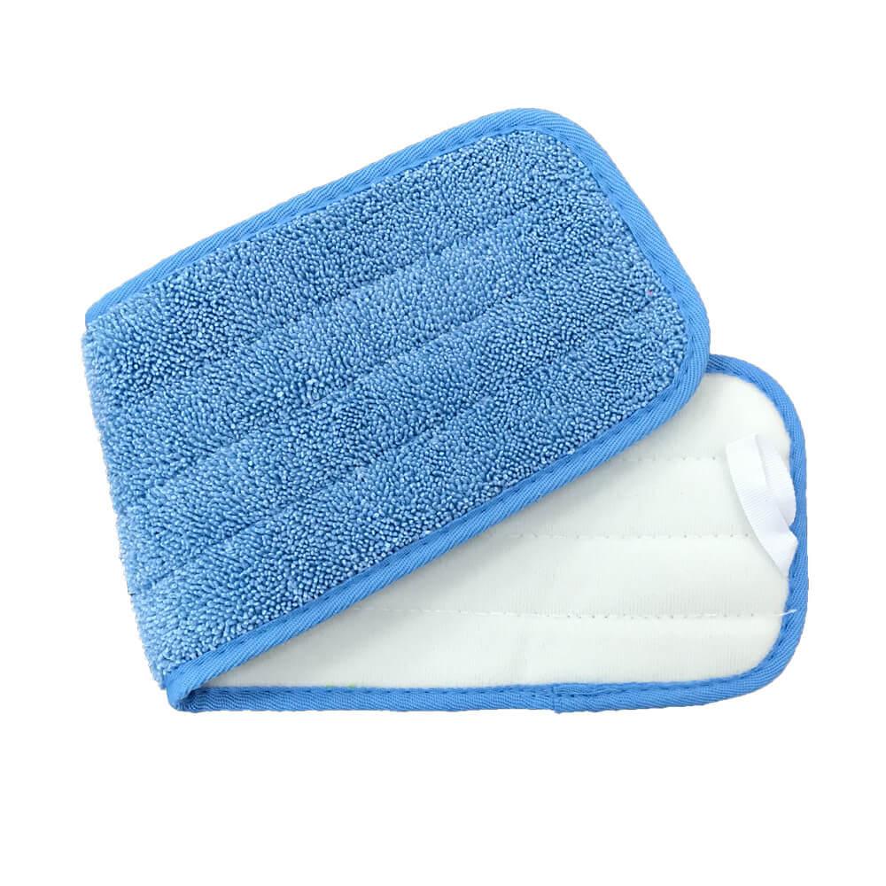 "Microfiber Cloth Wet: 18"" Microfiber Looped Wet Mop Pads"